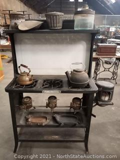 Antique Puritan 43 Stove w/Accessories