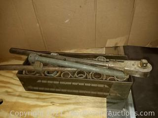 Large Wrench and Socket Set