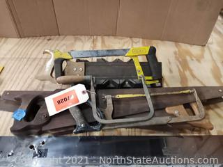 Lot Of Hand Saws