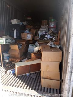 40' Storage Container CONTENTS ONLY (CONTAINER NOT INCLUDED)