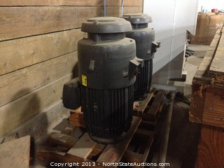 Fairbanks Morse 4-Stage Turbine Pump, 460V, 60 Hertz, 3 Phase, 1800RPM