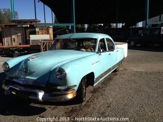 1954 Kaiser Manhattan, Sedan, 4-Door, 6-Cyl