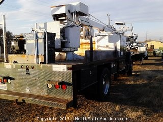1993 GMC TopKick Bucket Truck with 6.6L Diesel, 4x2, 285,877 Miles, and Generator.