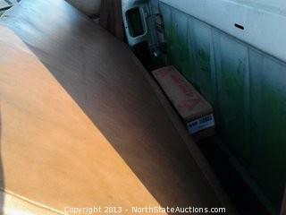 1993 GMC TopKick Bucket Truck with 6.6L Diesel, 4x2, 285,877 Miles, and Generator.