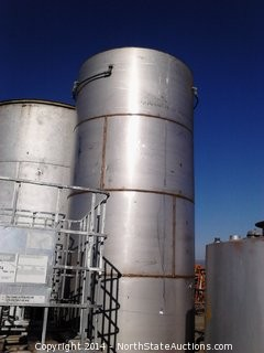 3300 Gallon Stainless Steel Water Tank
