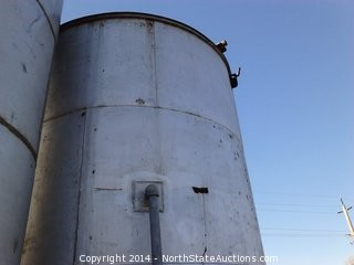 6300 Gallon, Steel Water Tank, Approx. 13ft Tall