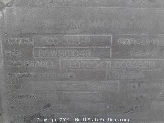 1985 Hobart DCC-353-P Welder