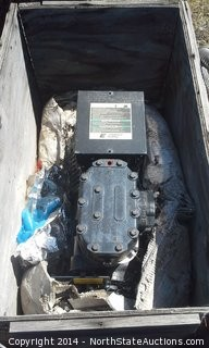 Semi-Hermetic Copeland Refrigeration Compressor, Model: 9RC1-1015-THC