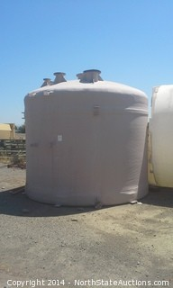 5,000 Gallon Fiberglass, Water Storage Tank, never used