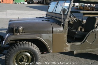 1962 WILLYS M170 AMBULANCE JEEP