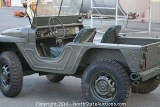 1960 AMC M422A1 MARINE CORP MIGHTY-MITE