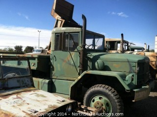 6X6 Military Deuce and a Half Truck.  2 1/2 Ton M35A2