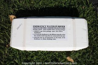 Katadyne PUR 35 Reverse Osmosis Desalinator Emergency Water Maker