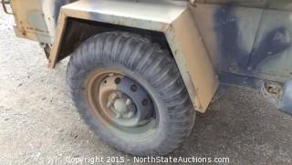 1966 Jeep Trailer