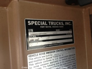 1996 Condor Reach Truck 125S, 8X6 NTC-350 CUMMINS DIESEL w/ 5 SPEED MANUAL TRANSMISSION