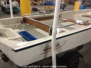 13 foot Boston Whaler 1980, with a 15 hp Suzuki motor
