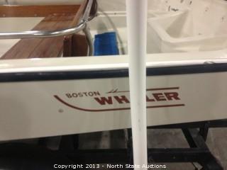 13 foot Boston Whaler 1980, with a 15 hp Suzuki motor