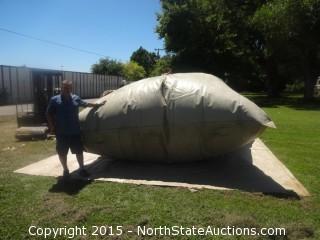 New Military 3000 Gallon Callapsible Tank (Bladder)