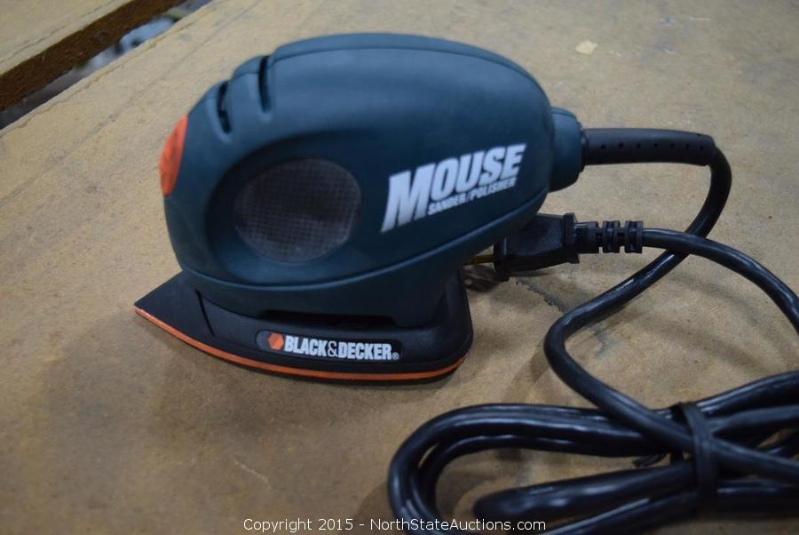 North State Auctions - Auction: Northstate January Auction ITEM: Black &  Decker Mouse Sander/Polisher