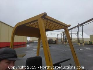 1964 Clark C50B 5000LB Forklift