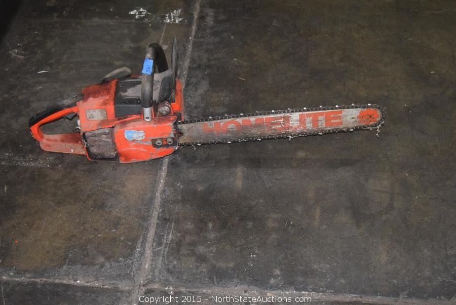 Manual for homelite 330 chainsaw