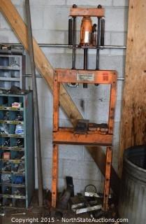 12 Ton Hydraulic Jack/Shop Press