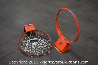 2 Basket Ball Hoops