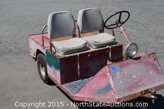 3-Wheeled Electric Cart