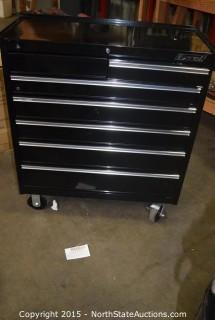 Excel 7-Drawer Metal Rolling Tool Box