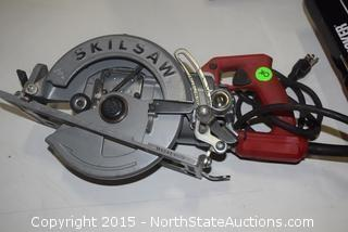 "Skilsaw 7 1/4"" Electric Handsaw"