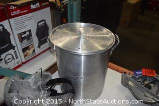Aluminum Turkey Fryer