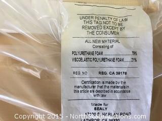 1 Sealy Posturepedic mattress