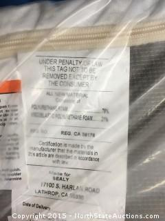 1 Sealy Posturepedic mattress