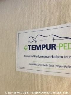 1 Tempur-Pedic Foundation