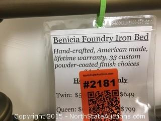 Benicia Foundry Iron Bed