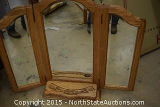 Furniture Traditions Beveled Dresser Mirror
