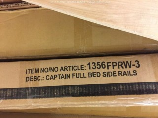 Large Mixed Lot of Beds, Rails, Headboards
