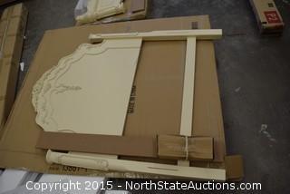 Twin Headboard, Footboard and Rails