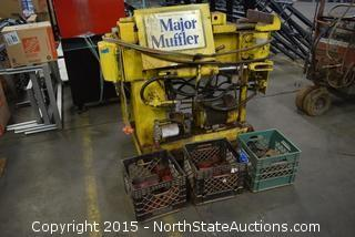 Major Muffler Pipe Bender Machine