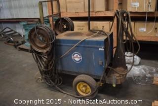 Miller Dialarc HF-P Welder on Cart