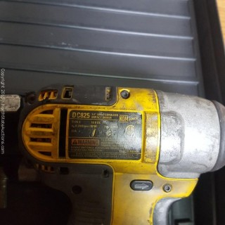 2 DeWalt Impact Drivers and Impact Wrench