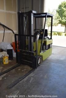 Clark Electric Forklift