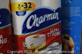 6 Boxes of Charmin Toilet Paper