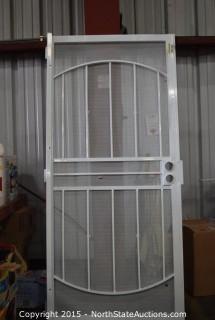 Security Screen Door
