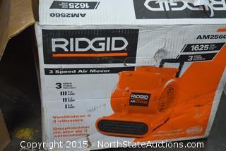 Ridgid 3-Speed Air Mover
