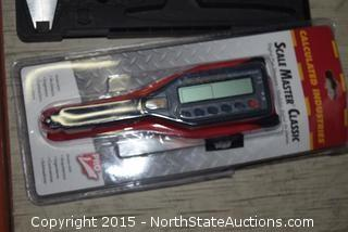 Husky Digital Caliper, Pro Scale Master Digital Measurer