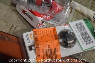 Oregon Jig R3, Diablo Hole Saw, Misc. Bits, Torx Key Set