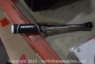 Husky Torque Wrench with Case