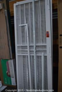 2 French Door Screen Doors