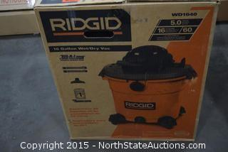 Ridgid 16-Gallon Wet/Dry Vac